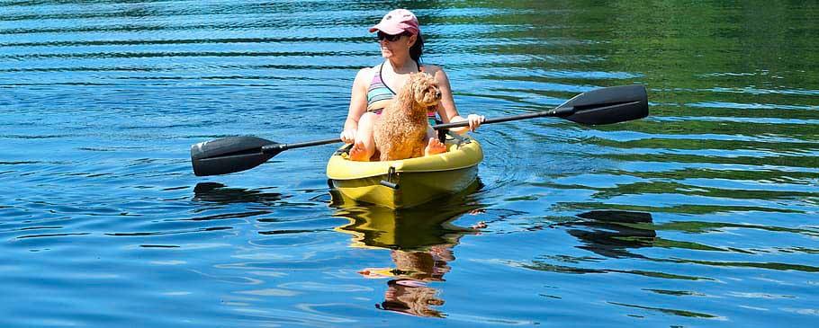 Kayak k1 individual perro