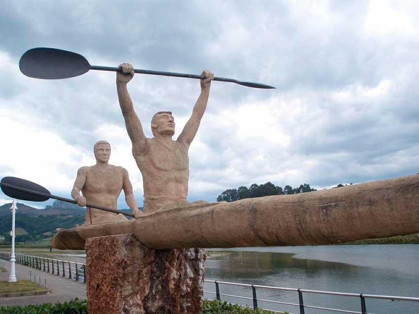 historia del descenso del Sella con kayak, Asturias