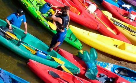 descenso del Sella en kayak Asturias