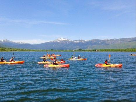 kayak con perros en madrid